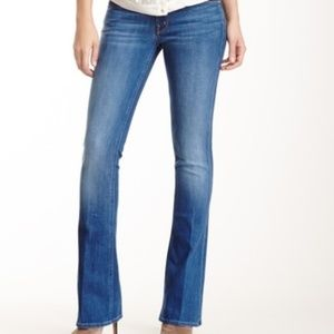 MOTHER THE RUNWAY BELL BOTTOM WOMEN'S JEANS